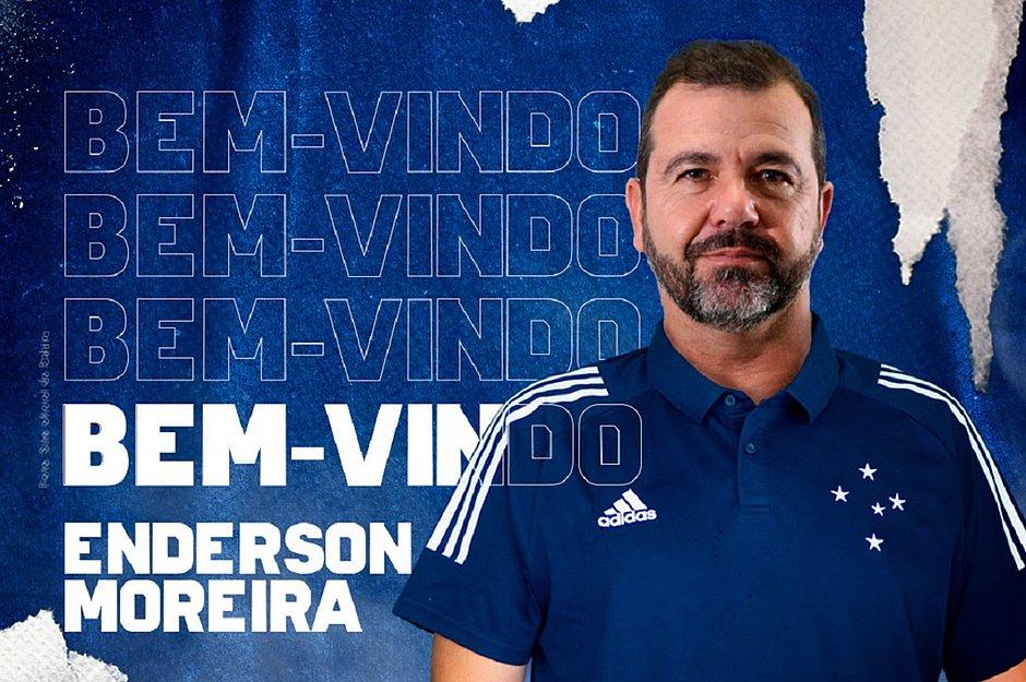 Oficial Enderson Moreira E O Novo Tecnico Do Cruzeiro Jornal Correio Noticias E Opinioes Que A Bahia Quer Saber