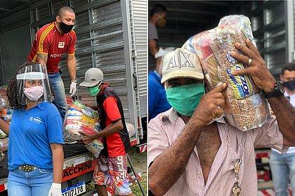 Prefeituras-bairro já entregaram mais de 1,8 mil cestas básicas em comunidades