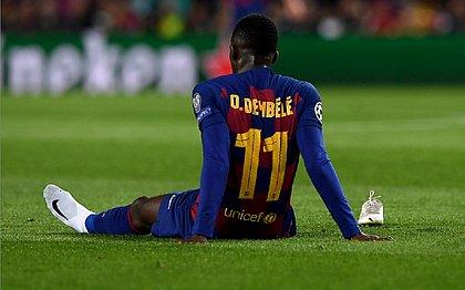 Com lesão na coxa esquerda, Dembélé precisará ser operado
