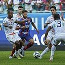 Juninho Capixaba participou da jogada do gol tricolor