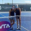 Luisa e Hayley avançaram às semis do Torneio de Lexington