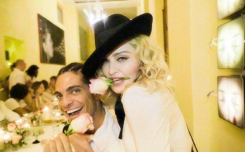 Ele já produziu o camarim de Madonna