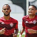 João Victor e Rend atuaram nas quatro partidas do Leão em 2020