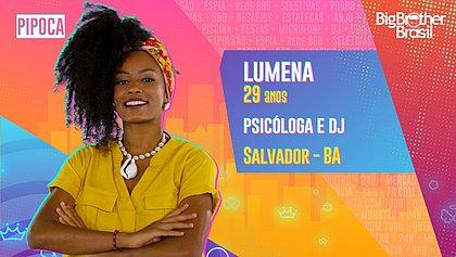 Tem baiana! DJ de pagodão Lumena vai participar do BBB21
