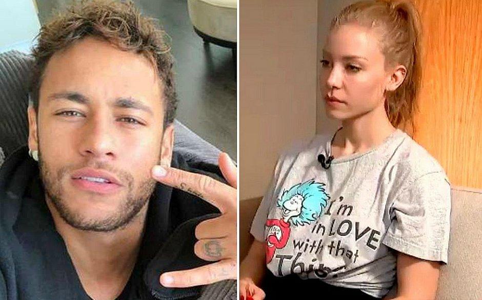 Resultado de imagem para neymar najila