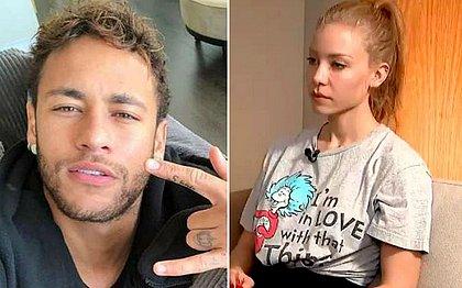 Advogado de Najila deixará caso se modelo não entregar vídeo contra Neymar até 0h