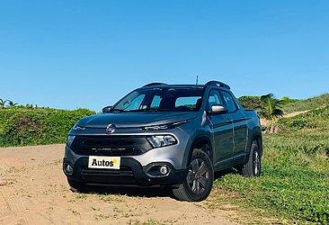 A picape Toro é oferecida com motor flex ou diesel
