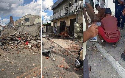 Fábrica clandestina de fogos de artifício explode em Crisópolis e mata duas pessoas