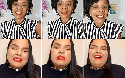 Flávia Oliveira foi a entrevistada de Flávia Paixão na live Empregos e Soluções dessa semana e falou sobre o mercado da beleza
