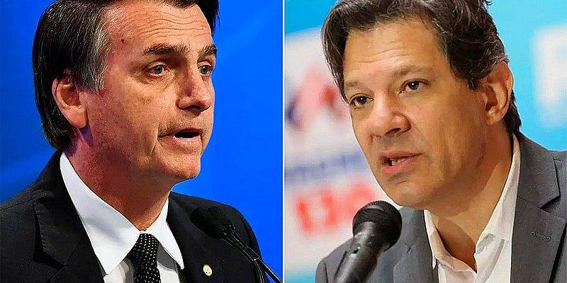 Bolsonaro e Haddad intensificam as agendas de campanha