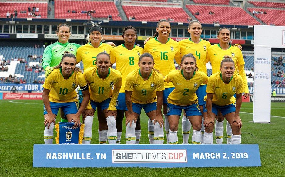 Resultado de imagem para futebol feminino brasil