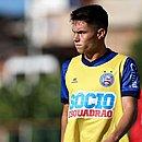 Caio Mello entrou no segundo tempo e ajudou o Bahia a vencer o clássico contra o Vitória
