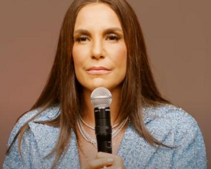 Em live, Ivete chora e canta para mãe de Paulo Gustavo: 'Ele vive no nosso sorriso'