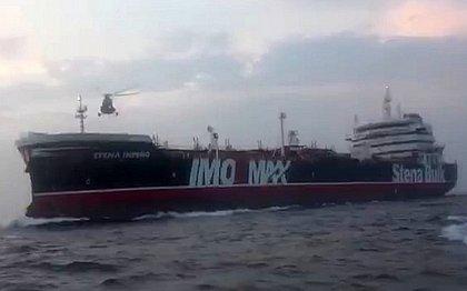 O navio britânico apreendido pelo Irã