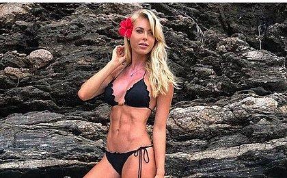 Corpo da modelo Caroline Bittencourt é encontrado no mar em SP