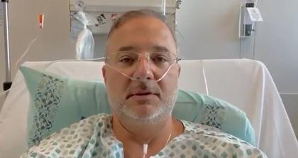 'Não tem sido fácil', diz secretário de saúde internado com covid-19