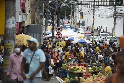 Grande movimentação na Avenida Joana Angélica.