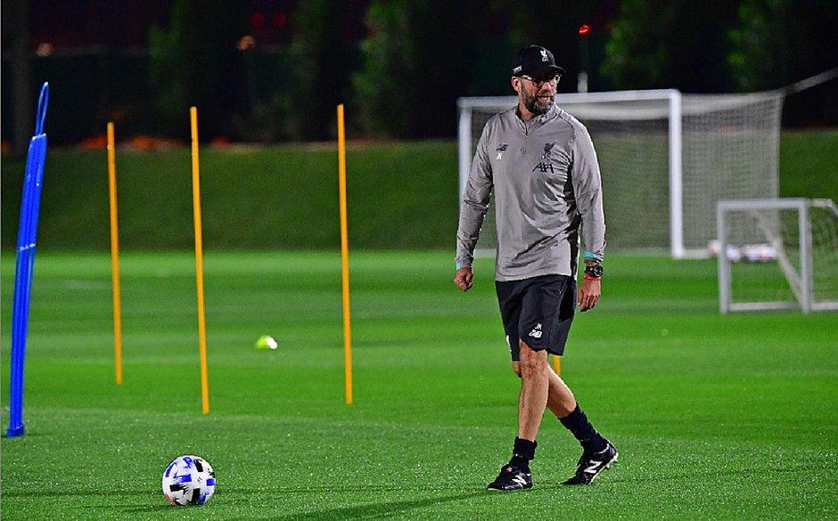 Klopp terá 'missão tripla' pelo Liverpool em Doha terça-feira