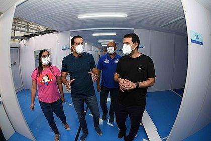 Itapuã: hospital de campanha deve começar a receber equipamentos nessa segunda (8)