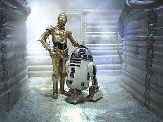 C3PO e R2D2