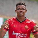 Com cinco gols anotados, Samuel é o artilheiro do Vitória na temporada