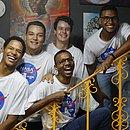 Equipe de estudantes premiadas pela Nasa: Antônio, Pedro, Ramon, Genilson e Thiago