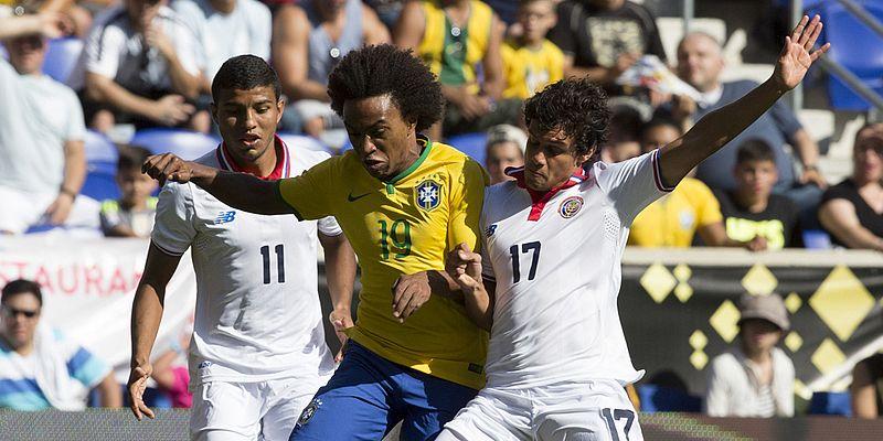 BraVideos: Brasil x Costa Rica