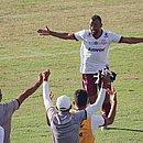 Elias marcou o primeiro gol do Jacuipense contra o Flu de Feira no Joia