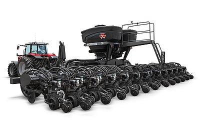 A plantadeira Momentum tem capacidade para armazenar até 5.130 litros de sementes.