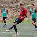 Guilherme Rend, em treinamento na Toca do Leão
