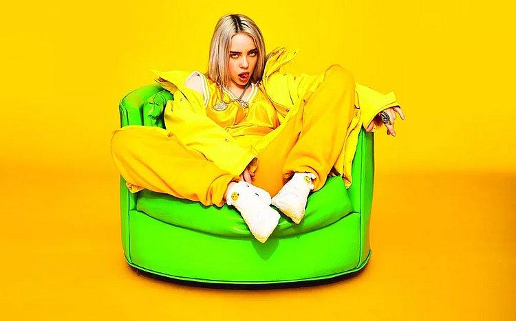 Billie Eilish é 1ª artista nascida nos anos 2000 a liderar parada dos EUA