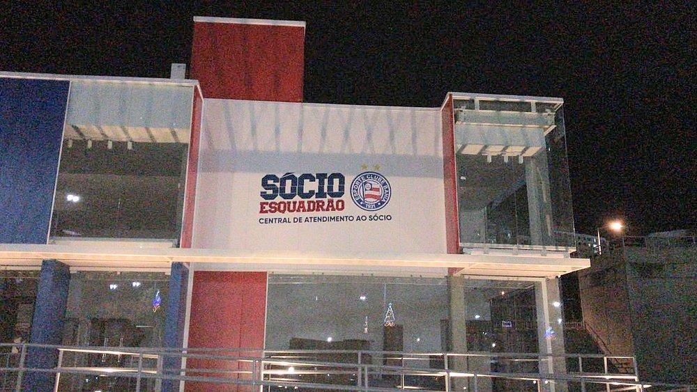 dc75099e2 Loja do Bahia foi construída na área externa da Fonte Nova (Foto  EC Bahia)