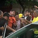 Gomes foi baleado ao tentar furar bloqueio da PM (Foto: Reprodução/Globo)