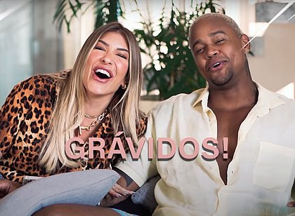 Vídeo mostra emoção de Lore Improta e Léo Santana ao saberem que estão 'grávidos'