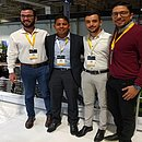 Stênio, Pedro, Rodrigo e Cláudio saíram do banco comum para atuar como agentes  de investimentos