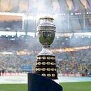 O troféu da Copa América