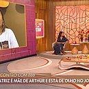 Mãe de Arthur, Beatriz Piccoli foi entrevista nesta quinta (15) no Encontro
