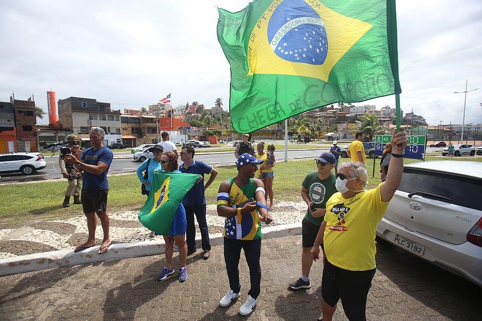 MP recomenda que SSP acompanhe 'Carreata Não Para Salvador!'