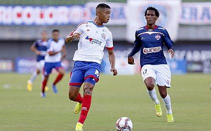 Marcelo foi o autor do gol que garantiu o triunfo do Bahia sobre o Bahia de Feira