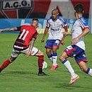 Nino deu assistência para o gol de Gabriel Novaes que impediu a oitava derrota seguida do Bahia no Brasileirão