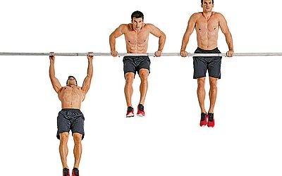 Muscle Up é um exercício semelhante às conhecidas barras, só que mais complicado de fazer
