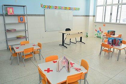CMEI Deputado Lourival Evangelista está adaptado aos protocolos sanitários para retorno presencial