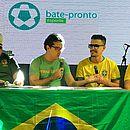 Raimundo Lima, Bruno Queiroz, Juan e Rafael participaram do Bate-Pronto Podcast #48