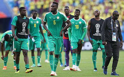 Senegaleses lamentam a eliminação
