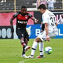 Vitória e Corinthians ficaram no empate em 2x2 no Barradão