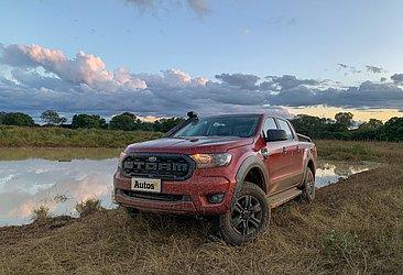 A Ford Ranger ficou em terceiro no geral e em primeiro entre as médias