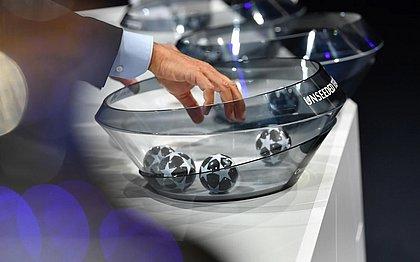 Sorteio foi realizado pela Uefa nesta segunda-feira (31)