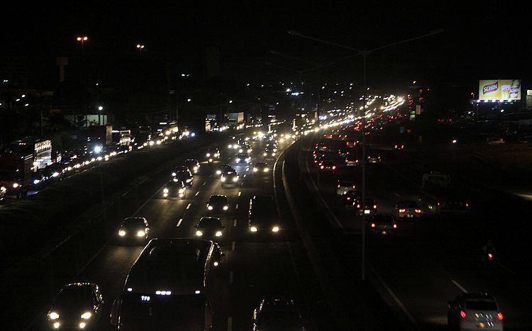Trânsito está congestionado na região da rodoviária