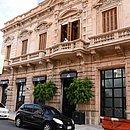 Frente do Hotel Palmaroga: prisão domiciliar de Ronaldinho Gaúcho e Assis