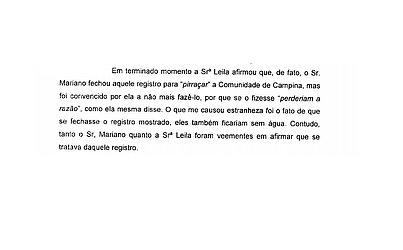 Relatório da Cippa conclui realização de desvio de água